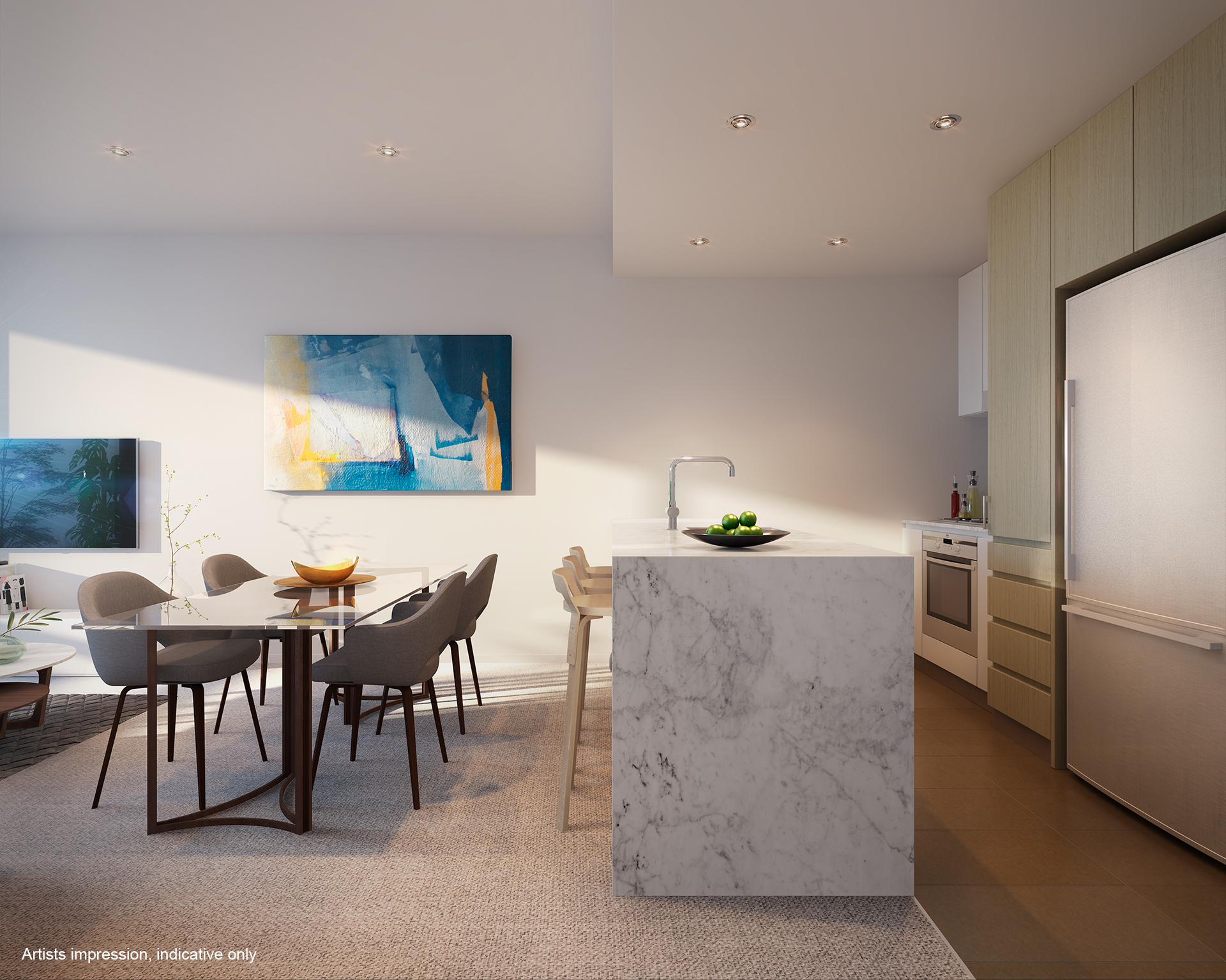 Hamilton Reach Riverlight East Kitchen Specific Property