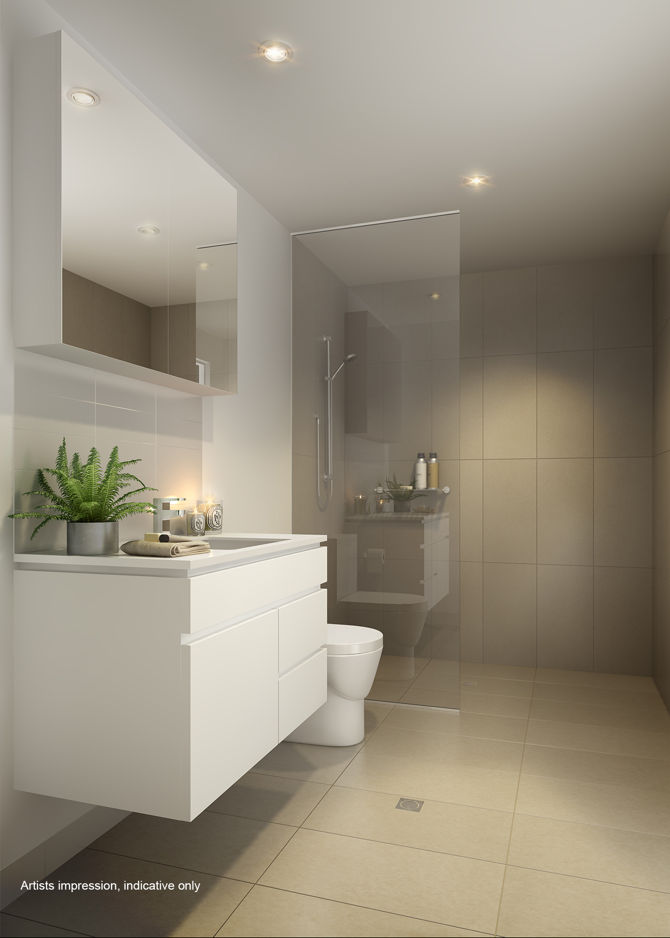 Hamilton Reach Riverlight East Bathroom Specific Property
